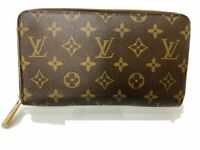 Louis Vuitton Zippy Wallet Zippy Wallet M60017 Browns Monogram Y-1420