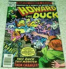 Howard the Duck 18, Fn (6.0), 1977, Howard becomes a Man!