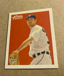 2006 Bowman Heritage Baseball Mini #250 Justin Verlander Rookie Card