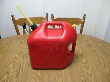 Vintage Plastic Blitz Plastic 5 Gallon Gas Can Vented Style