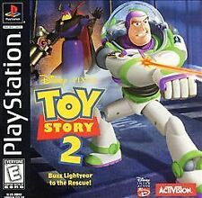 Toy Story 2: Buzz Lightyear to the Rescue (Sony PlayStation 1, 1999) - European