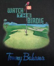 Tommy Bahama Size Medium WATCH THE BIRDIE TEE Coal Cotton T-Shirt New Mens Shirt