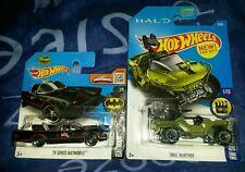 Hotwheels matchbox batman classic tv unsc warthog army kids toy collectors model