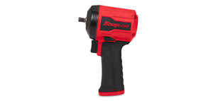 SNAP-ON 3/8 Drive Stubby Air Impact Wrench (Red) PT338