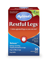 Restful Legs Tablets by Hyland's, Natural Itching, Crawling, Tingling and Leg 50