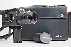 {AllWork NMint} NIKON R10 Super 8 Case Lens Hood 8mm Movie Film Camera FromJapan