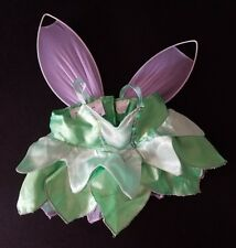 Build A Bear Workshop Green Fairy Pink Wings Costume Dress Outfit