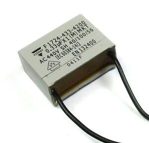 8pcs Vishay MKT Metallized Polyester Box Film Capacitor .33uF 440VAC, 332J