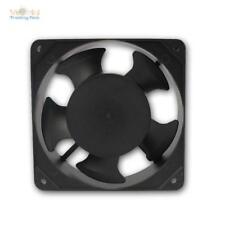 Lüfter Kühler 230V 12x12cm, 161m³/h Gehäuselüfter Axiallüfter 22W Fan Ventilator