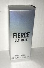 Abercrombie & Fitch FIERCE ULTIMATE Mens Cologne 0.5FL OZ / 15 ml Rare!