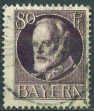 (Bay05aw) Bavaria 1914,Michel Nr. 103,gestempelt, MK 12,00 €