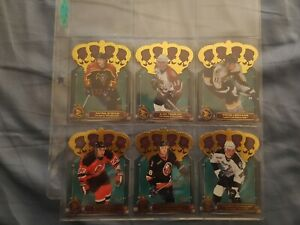 2000-01 Pacific McDonalds Gold Crown Die-cuts (COMPLETE SET - Lot of 6)