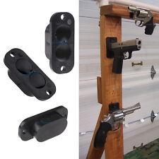 25LB Rating Gun Magnet Concealed Gun Pistol Hiding Mount Holder For Desk Bed Car