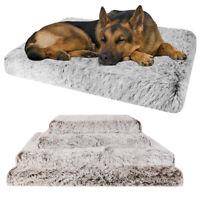 XXXL XXL XL L Orthopedic Mattress Dogs Cage Crate Cushion Mat Pet Dog Cat Bed