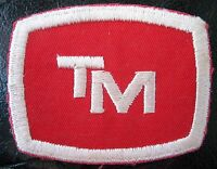 "T M EMBROIDERED SEW ON ONLY PATCH COAL PROCESSING COMPANY ADVERTISING 3"" x 1 1/2"