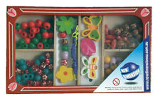 Wooden Bead Making Set - Butterfly design