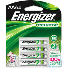 Energizer AAA Rechargeable Batteries 4 Pack