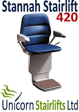 STANNAH 420 STAIRLIFT / STAIR LIFT - FULLY RECONDITIONED - LATEST SAXON MODEL