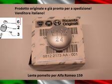 LENTE POMELLO CAMBIO ALFA ROMEO 159 BRERA SPIDER CALOTTA ORIGINALE 5 MARCE GEAR