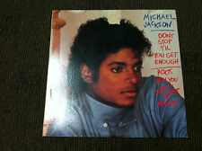 "Michael Jackson ‎– Don't Stop 'Til You Get Enough / Rock With You _12"", 45 RPM"