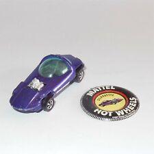 Hotwheels Redline 1968 Silhouette Purple with badge