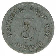 Deutsches Reich, 5 Pfennig 1897 G, A18269