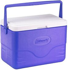 Camping Beach Cooler 28 Quart Blue Ice Chest Box Portable 36 Cans Lightweight