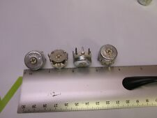 100 ohm Potentiometer Wire Wound Trim Pots Adjustable Metal In-closed See Pics !