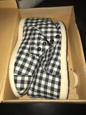 Brand New My Buddies Toddler Shoes Blue And White Size 4