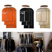 Dress Clothes Suit Coat Garment Cover Bag Dustproof Storage Protector Breathable
