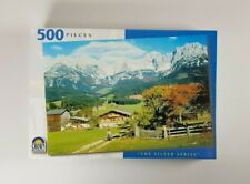 New - Swiss Countryside Jigsaw Puzzle 500 Pieces The Silver Series Crown Puzzles