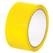 "72 ROLLS YELLOW COLOR PACKING PACKAGING TAPE 2"" X 110 YARDS"