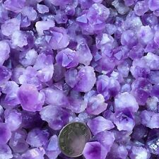 10g Natural Amethyst Skeletal Quartz Point Purple Crystal Cluster Specimen CHIC