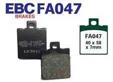 EBC Bremsbeläge Bremsklötze FA047 HINTEN DUCATI Monster 1000 ie (992cc) 04-05