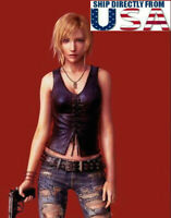 """1/6 Leather Vest For Parasite Eve Aya Brea For 12"""" PHICEN TBL HotToys Figure USA"""
