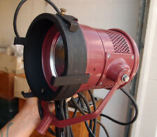 Mole Richardson Type 4051 Molequartz Teenie-Mole Movie/TV Light with Barn Doors!