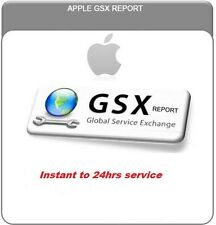 Apple Official GSX Report for iPhone / iPad ( Carrier Check SIM Lock Status )