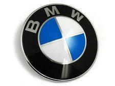 BMW Bonnet Insignia Azul Blanco Diseño vendedor del Reino Unido E53 X5 serie modelos 82MM