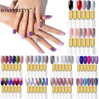 BORN PRETTY Vernis Semi Permanent Gel Polish UV Manucure Nail Kit 2-6 Couleurs