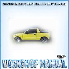 SUZUKI MIGHTYBOY MIGHTY BOY F5A F8B WORKSHOP SERVICE REPAIR MANUAL IN DISC