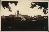 Klatovy Tschechien Česká Postcard AK ~1920/30 Gesamtansicht panoráma ungelaufen