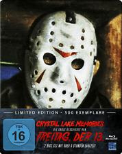 """CRYSTAL LAKE MEMORIES"" Freitag der 13. Horror Doku BLU RAY FUTUREPAK STEELBOOK"