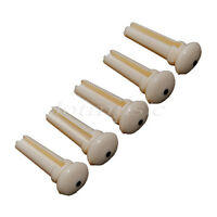 5pcs ABS Plastic Acoustic guitar bridge end pin guitar parts good quality