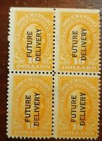 US Stamp #RC14 Future Delivery Block of 4 - Unused - NG