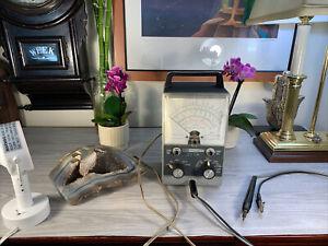 Vintage Heathkit VTVM IM-11--Vacuum Tube Voltmeter Works Great