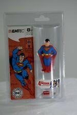 Emtec Superman 8 GB flash drive w/ bonus temporary tattoos (NJL017940)