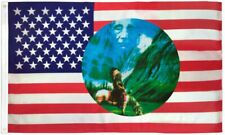 """New listing """"Usa Riding Indian Circle"""" 3x5 ft flag polyester"""