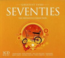 SEVENTIES-GREATEST EVER - ELTON JON, ROD STEWART, MUNGO JERRY, SQUEEZE 3 CD NEW+