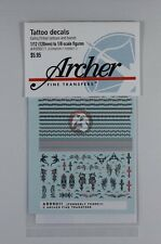 Archer (1/12 to 1/8) Celtic and Tribal Tattoos and Tattoo Band Decals AR99011