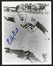 Sibby Sisti Milwaukee Braves Signed Auto 8x10 Photo Autograph